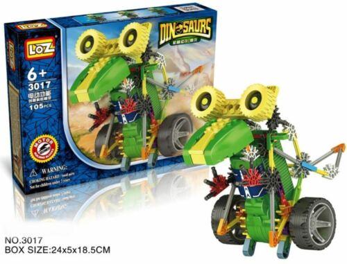 LOZ ideas Motor Building Blocks Robotic Tyrannosaur Robot T-Rex Action Dinosaur