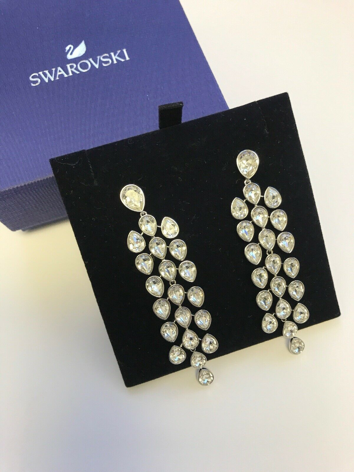 New authentic Swarovski drop dangle earrings crystal crystals