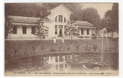 France.Aix-Les-Bains. Etablissement Thermal Et Les Hotels