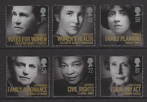 2008-WOMEN-OF-DISTINCTION-SET-OF-6-UNMOUNTED-MINT
