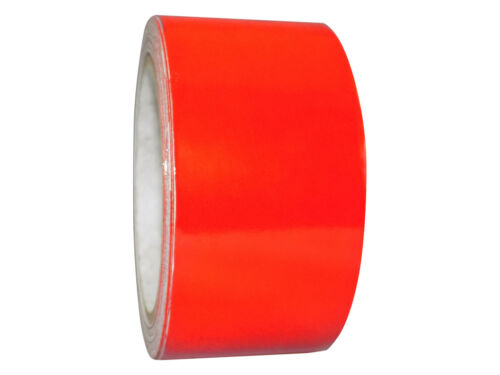 4 in x 30 ft. Red Engineer Grade Retro Reflective Pinstripe Tape