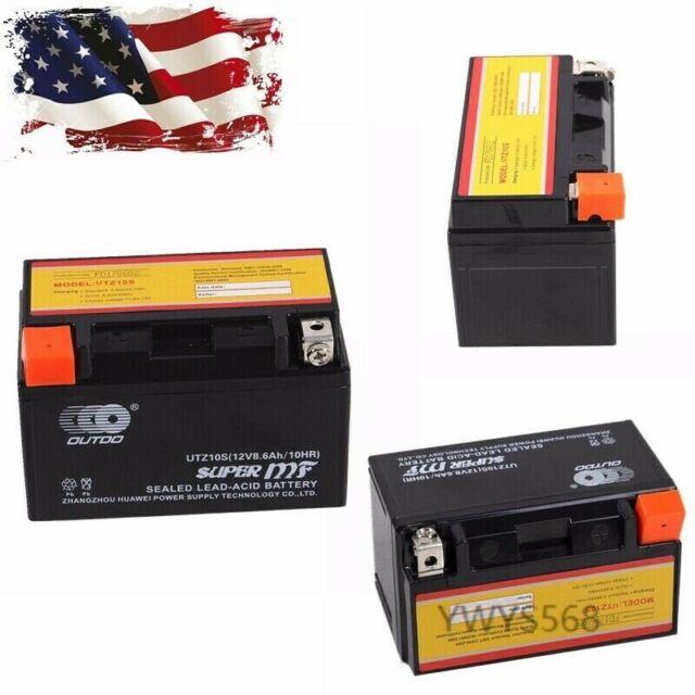 AGM Batterie HONDA cbf1000 T ABS Année De Construction 2008 VARTA ttz10s-bs//ytz10s