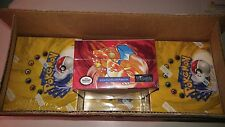 WOTC Pokemon Base Set 1 Unlimited Booster Box Near Mint Condition not 1st