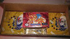 WOTC Pokemon Base Set 1 Unlimited Booster Box Near Mint Condition not 1st