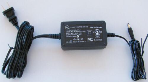 Original Genuine SMC Networks AC Power Supply Adapter 8014 WG WN NT15-Y120125-A1
