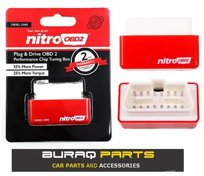NITRO POWER DIESEL CHIP TUNING OBD2 PERFORMANCE ECU REMAP PLUG IN BOX II