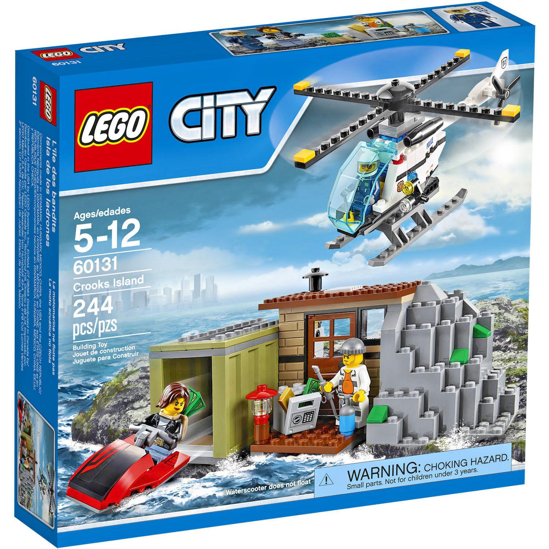 LEGO City 60131 - Crooks Island - Includes 3 Mini-Figures
