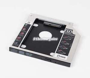 DY-tech 2nd Hard Drive HDD SSD Caddy for Dell L511X L511Z 14 L401X L402X M14X M14Z M14X