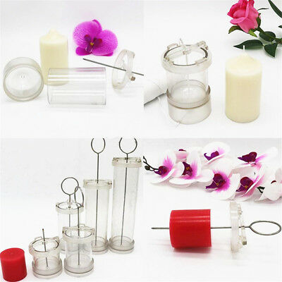 Transparent DIY Candle Making Model Acrylic Mould Mold For Handmade Craft Kit