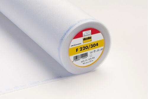 Vilene Hierro-en la necesidad de una interfaz Blanco F220-304 0.5M