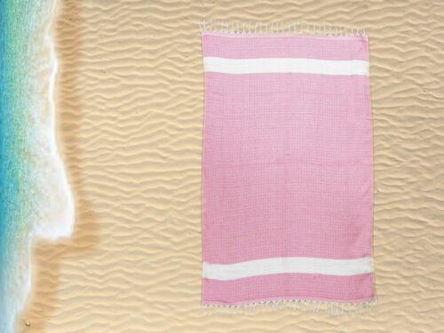 Large Jumbo Turkish Hamam Stripe Beach Towel Traditional Turkish Design
