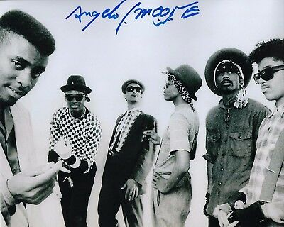 Gfa Fishbone Singer Signed Autograph 8x10 Photo Proof Ad4 Coa Strong Packing Angelo Moore