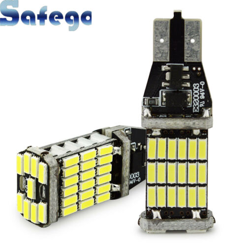 2pcs 1000 lumens Canbus Lamp Error Free 921 912 T10 T15 SMD 4014 Chipsets LED