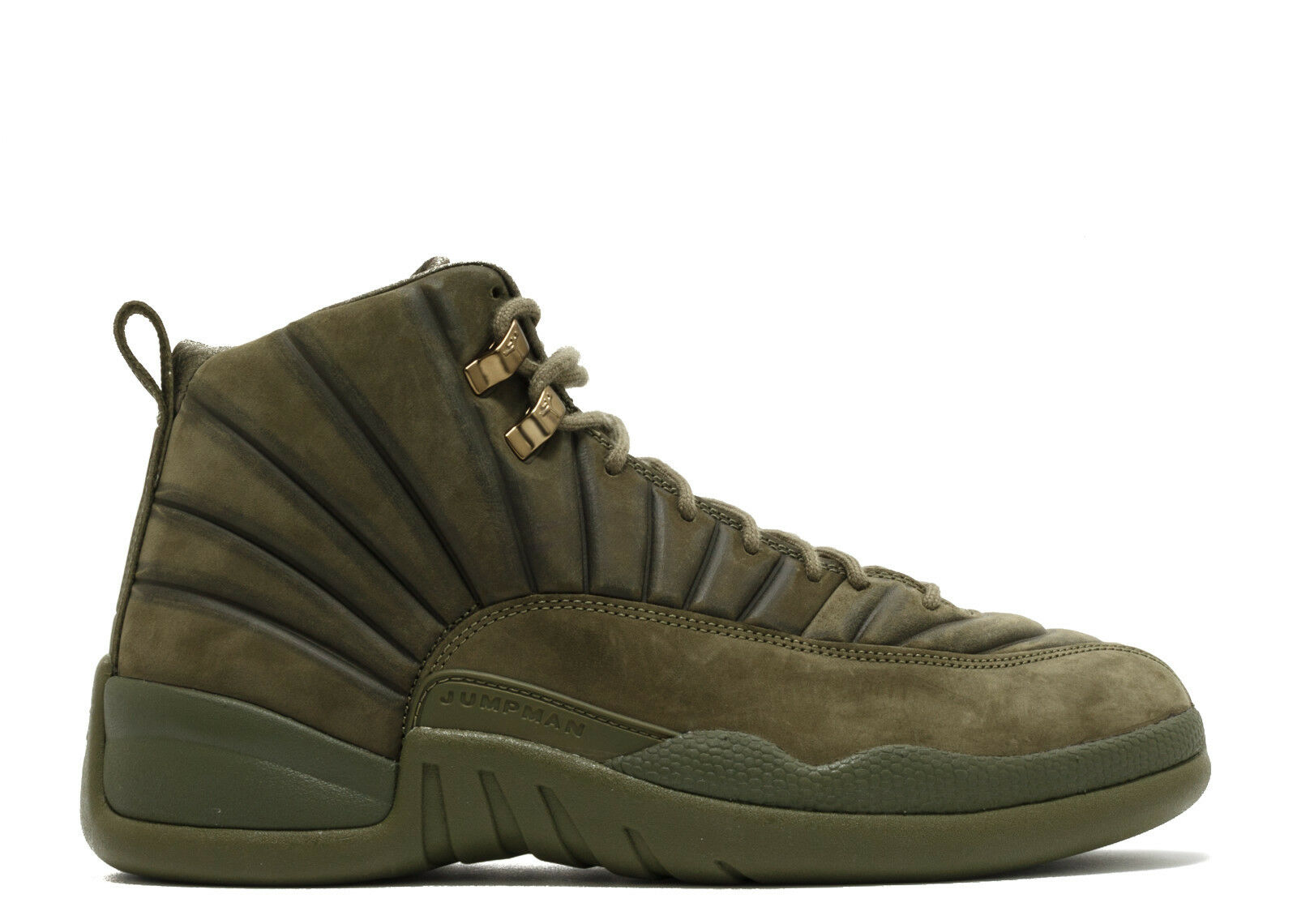 Nike Air Jordan 12 Retro PSNY Milan Olive Comfortable The most popular shoes for men and women