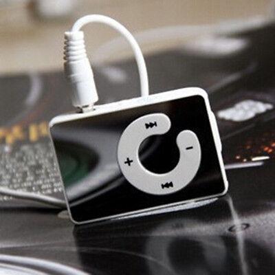 1-8GB Support Micro SD TF Fashoin Mini Clip Mirror USB MP3 Music Media Player