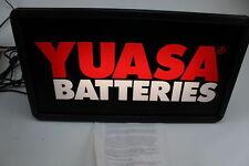 Yuasa Batteries Electric Sign 12 X 22