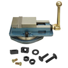 3 Accu Lock Precision Vise With Swivel Base Milling Drilling Machine Bench Clamp