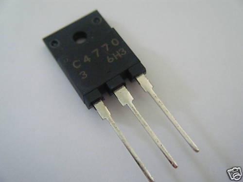 2SC4770  NPN triple diffused planar silicon  LOT OF 10