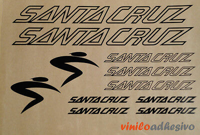 Efficiente Pegatina Vinilo Sticker Santa Cruz Bicicleta Bike Btt Mtb Autocollant Aufkleber Texture Chiara