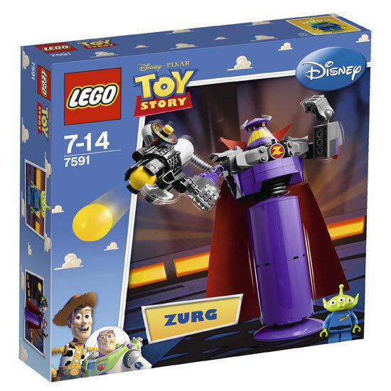 LEGO TOY STORY 7591 Zurg Construct Pixar Robot