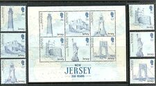 Jersey-New Jersey(USA)350 Years of Links-set of 6 mnh-Statue Liberty-Lighthouses