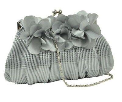 Damen Rosen Blumen Hochzeitsfest Handtasche