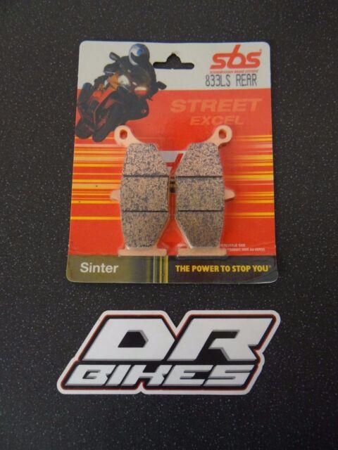 Suzuki GSXR 600 06 07 08 09 10 SBS Street Sintered Rear Brake Pads 833LS