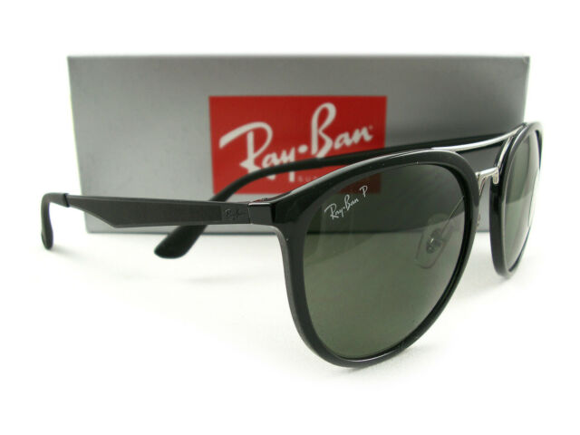 9a663db3616e Sunglasses Ray-Ban Rb4285 601 9a 55 Black Green Polarized for sale ...