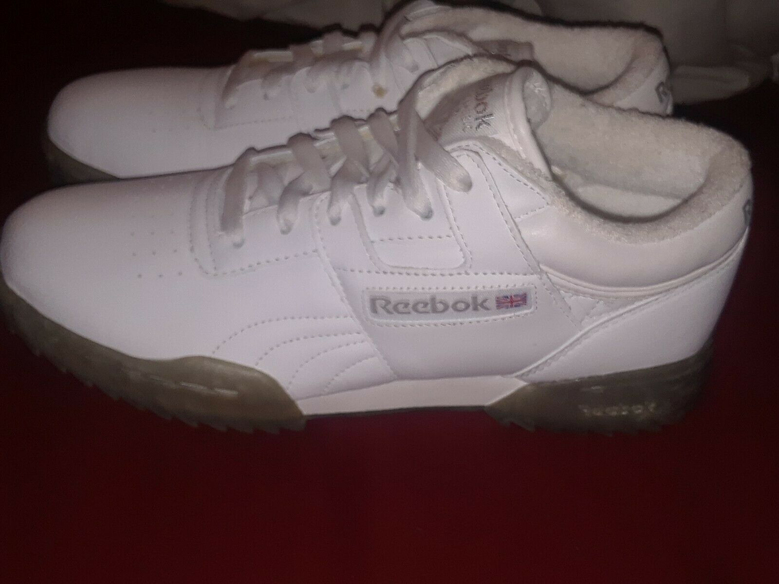 MENS REEBOK 2003 WORKOUT RIPPLE W SIL SIZE 7.5 US RARE ITEM