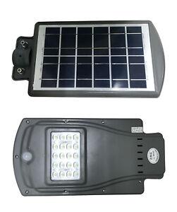 Solar Powered Motion Sensor LED Street/Path/Shed/Drive ...