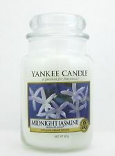 Yankee Candle Midnight Jasmine 22 oz.Large Jar. Brand New (sku:9842)