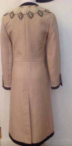 538f31b03 Shoptagr | $3,300 Gucci Coat Black Leather &Amp; Wool Oversized ...