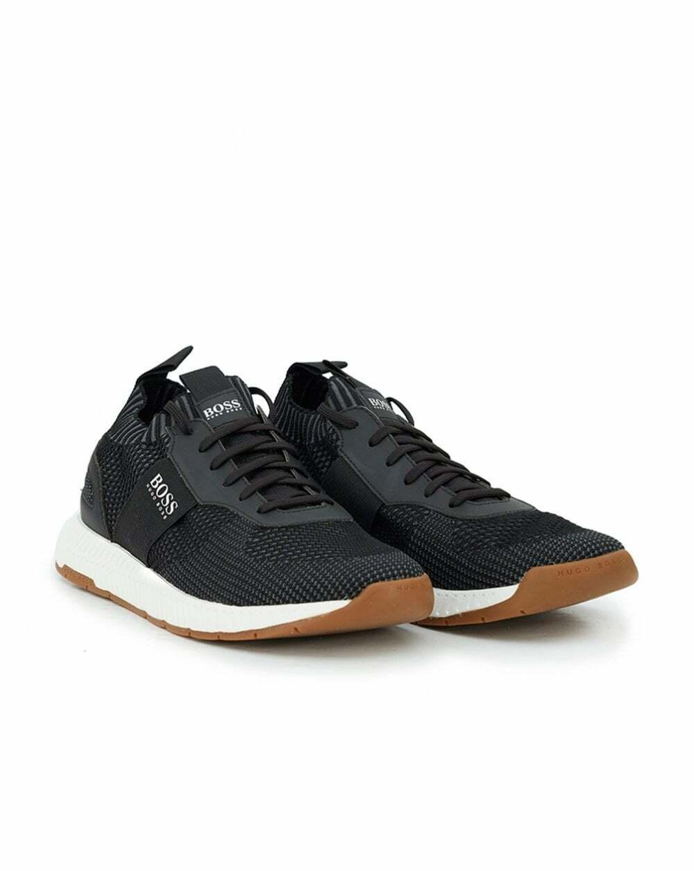 Hugo Boss Titanium Running Mens Trainers Lightweight Fitness Footwear scarpe da ginnastica