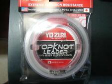 New Yo-Zuri Topknot Fluorocarbon Leader 100Lb 30yd Clear TKLD100LBNCL30YD