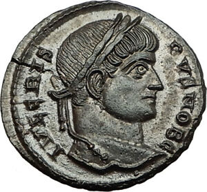CRISPUS-son-of-Constantine-I-the-Great-321AD-Authentic-Ancient-Roman-Coin-i65463