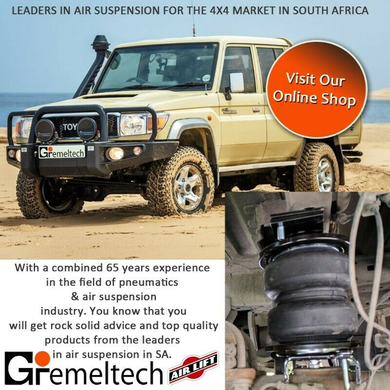 Gremeltech - Airsprings for 4x4 vehicles