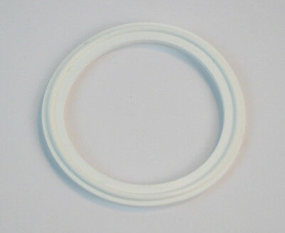 """Sanitary Gasket 1.5"""" Tri Clamp Silicone #40MP-XW150"""