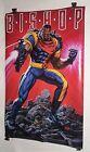 1990's Original Uncanny X-Men Bishop 34 x 22 Marvel Comics Press poster 175:1994