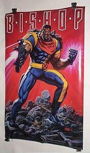 1994-Original-Uncanny-X-Men-Bishop-34-x-22-Marvel-Comics-Press-poster-175-1990-039-s