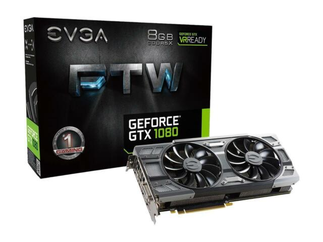 08GP46286KR GeForce GTX 1080 FTW Video Card EVGA