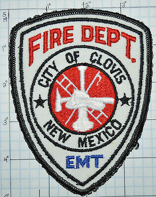CLOVIS NEW MEXICO NM Fire and Ambulance PARAMEDIC FIRE PATCH
