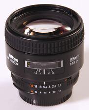 OBJECTIF NIKON : NIKKOR AF 1,8/85mm D AF-D