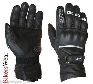Rukka Apollo Black Leather Gore Tex Waterproof Racing Motorcycle Gloves Ebay