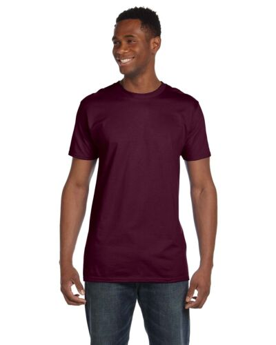 Hanes Mens Nano T T Shirt 100/% Cotton Lightweight Tee S M L XL 2XL 3XL 4980