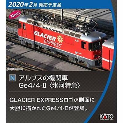 Kato 10-1146 Swiss Alps Glacier Express 4 Cars Add-on Set N scale