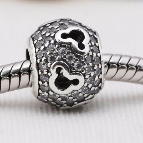 Sterling New S925 European Silver Pendant Charms Bead for Bracelet Necklace IC1