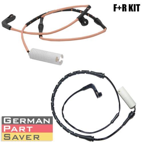 Front Rear Brake Pad Sensor Kit for BMW 7er E65 E66 34356778037+34356778038