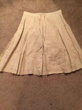 "Banana Republic Godet Skirt Size 8 Approx 24"" 1/2 Waist 15"" Khakis"