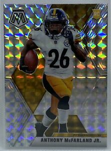 2020-Mosaic-Football-ANTHONY-McFARLAND-237-SILVER-PRIZM-Rookie-Card-RC-Steelers