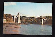 C1970s View of the Menai Straits Suspension Bridge